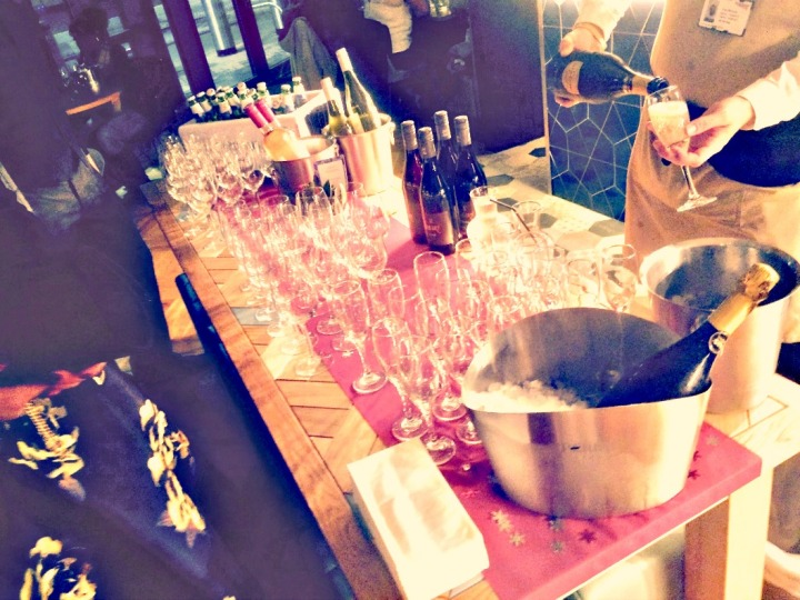 booze table