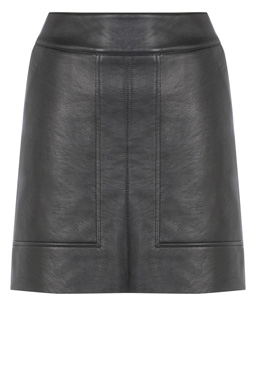 Warehouse Leather Skirt
