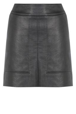 Warehouse Leather Skirt