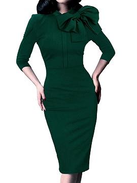 Green Choies Dress
