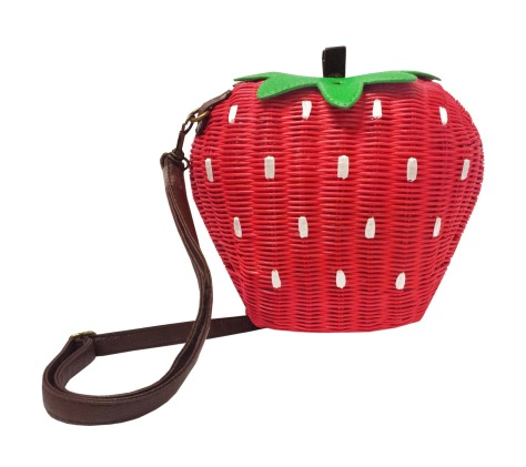 Strawberry Bamboo Bag