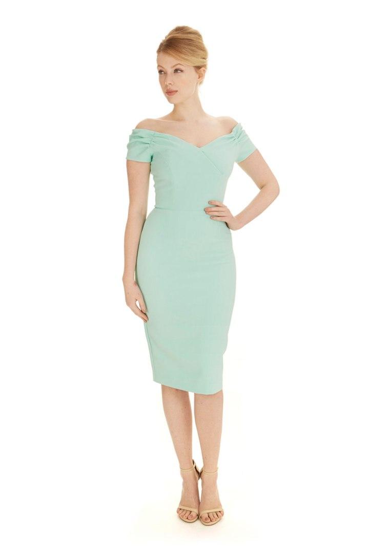 Fatale Crepe Dress