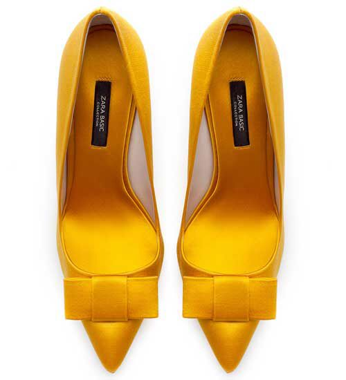 Zara Satin Shoes