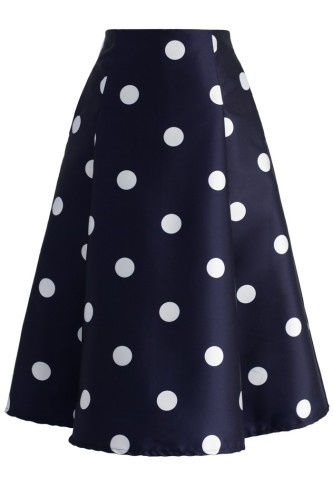 Fab in Dots Skirt