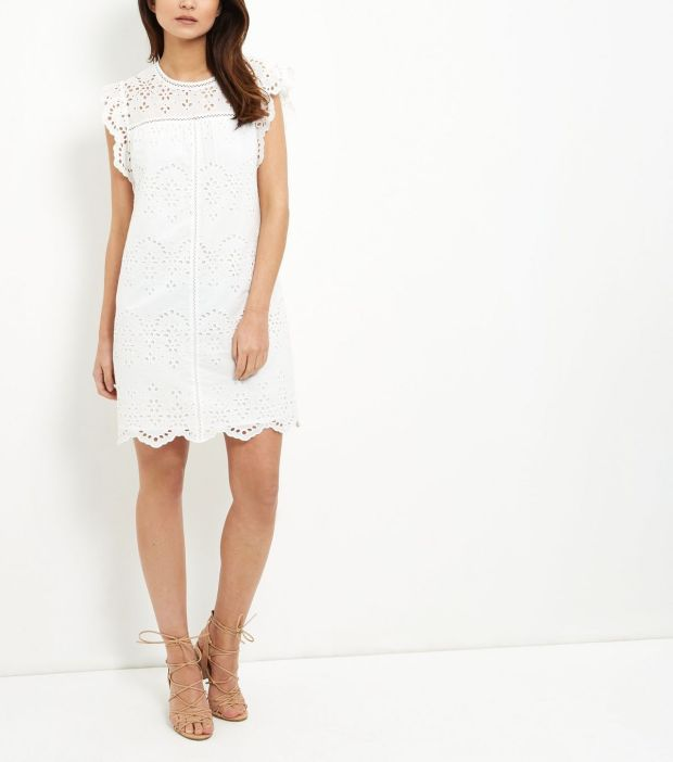 New Look White Dress