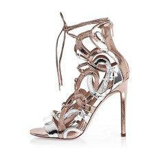Silver Cage Heels, £60