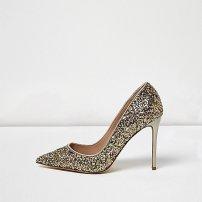 Gold Glitter Courts, £35