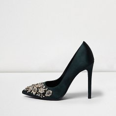 Green Embellished Courts, £90