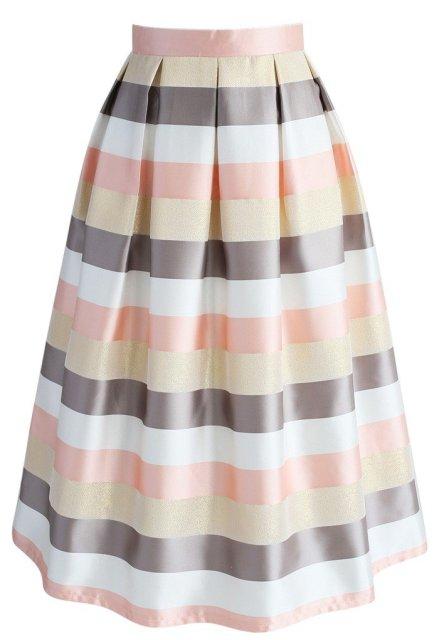 Stripes Spotlight Skirt