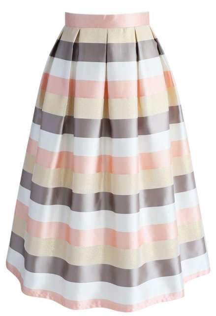 Stripes Spotlight Skirt