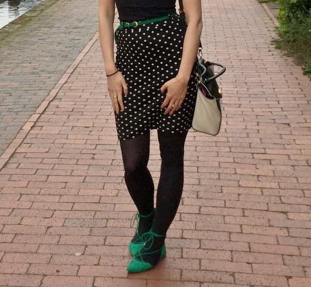 Green Polka Dots 5