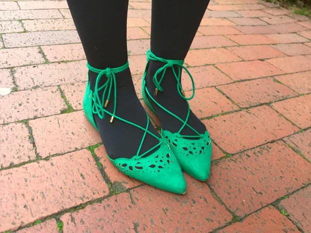 Green Polka Dots 7
