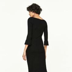 Bodycon Ruffle Dress