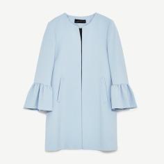 Coat Ruffle Sleeves