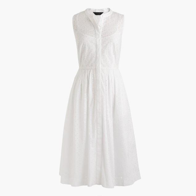 J Crew Eyelet Dress