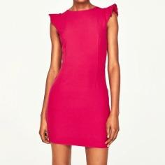 Shoulder Ruffle Dress