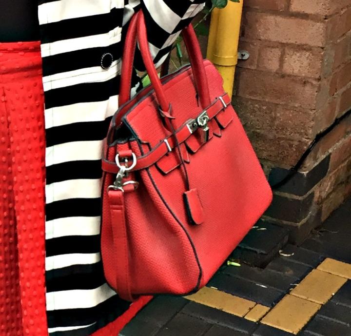 Black White Red 5