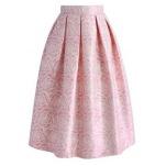 Glossy Rose Skirt