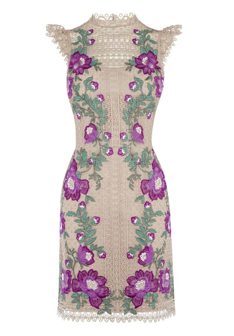 Karen Millen Embroidered Dress