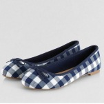 New Look Gingham Flats