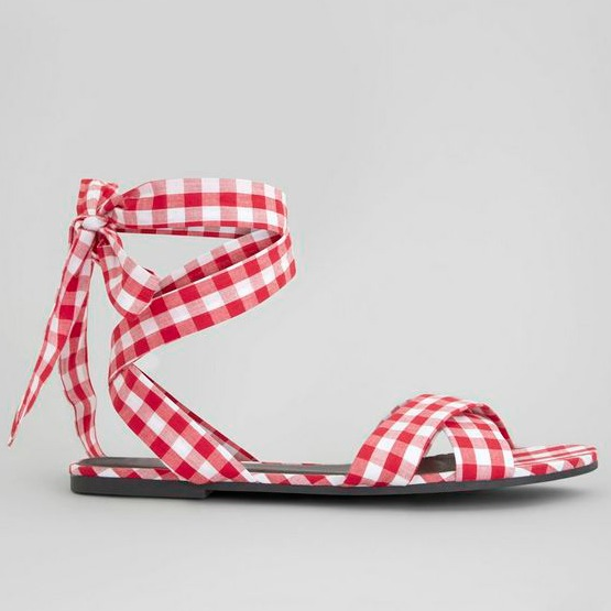 Gingham Shoes New Look