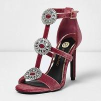 RI Velvet Shoes