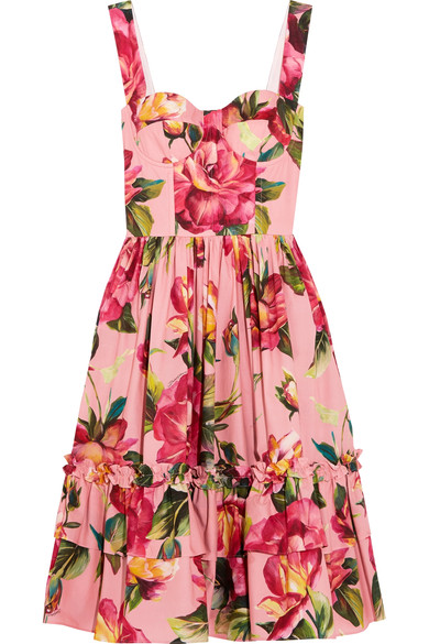 Dolce Floral Dress