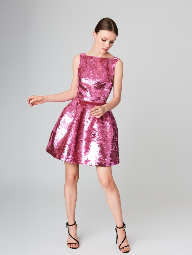 Oscar Sequin Dress