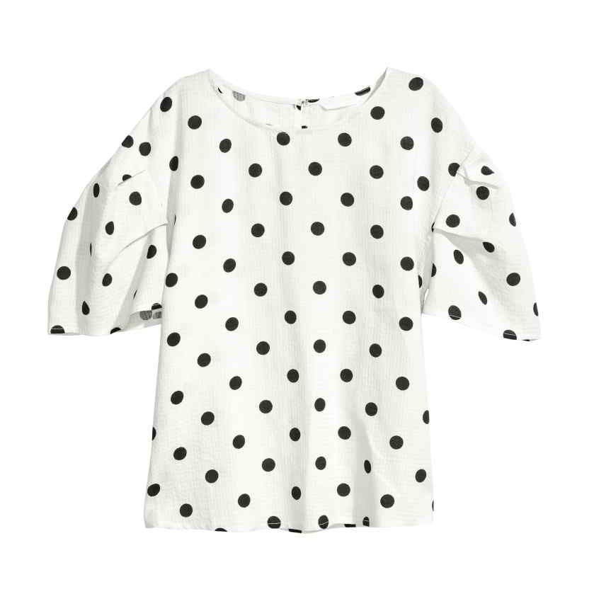 Polka Dots Blouse H M Picking The Day
