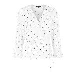 Polka Dots White NL Top