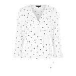 Polka Dots White NL Top