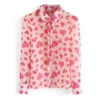 Hearts Chicwish Blouse
