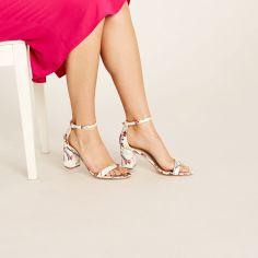 Block Heel Sandals, £35