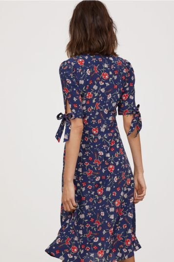 HM Silk Dress 2